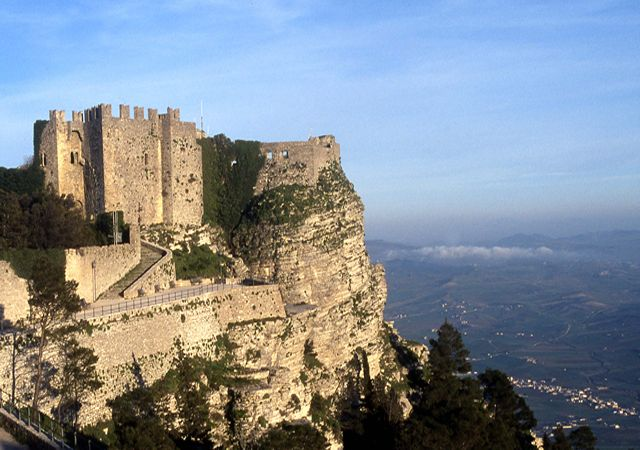 ERICE: The temple of the goddess of love